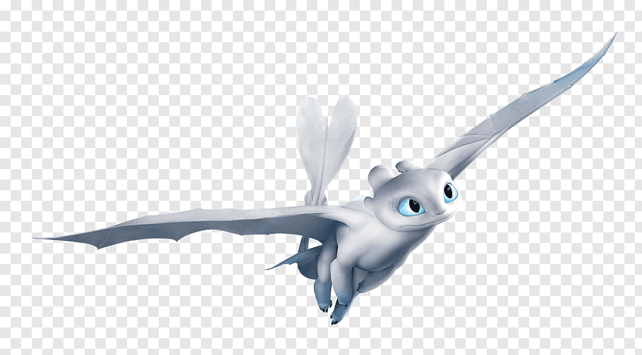 how-to-train-your-dragon-3-light-fury-how-to-train-your-dragon-light-furry-png-clip-art